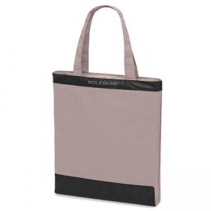 Torba na zakupy Moleskine Journey Packable Tote, pastel rose