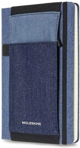 Opaska na notes Moleskine L(13x21), Denim