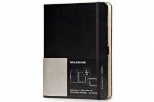 Etui Moleskine Tablet Cover na iPad Air z notesem, czarne