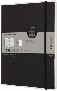 Moleskine Smart Diary Pro Digita 2021 XL(19x25)