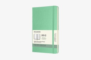 MOLESKINE kalendarz 2021-2022 LARGE ZIELONY WEEKLY HARD