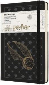 MOLESKINE kalendarz 2021-2022 LARGE HARRY POTTER DAILY